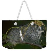Bird-cherry Ermine Caterpillars Weekender Tote Bag