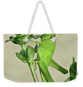 Bird Grasshopper Nymph Weekender Tote Bag