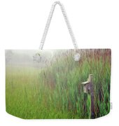 Bird House In Quogue Wildlife Preserve Weekender Tote Bag