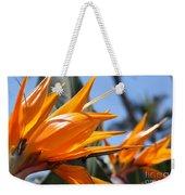 Bird Of Paradise Flowers Weekender Tote Bag