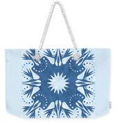 Bird Of Paradise Hawaiian Quilt Block Weekender Tote Bag