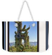 Bird On Cactus Weekender Tote Bag