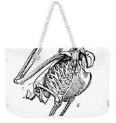 Bird Skeleton Weekender Tote Bag