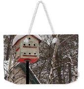 Birdhouse Weekender Tote Bag