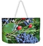 Birdies Bounty Weekender Tote Bag by Kristin Elmquist