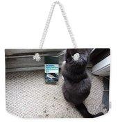Birding Cat One Weekender Tote Bag