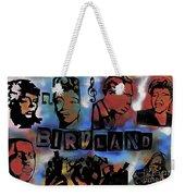 Birdland Weekender Tote Bag