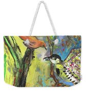 Birds 03 Weekender Tote Bag
