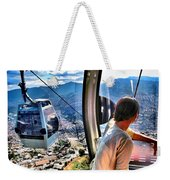 Bird's Eye Weekender Tote Bag