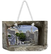 Bird's Eye View Of Dubrovnik Weekender Tote Bag