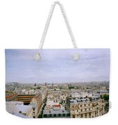 Panoramic Paris Weekender Tote Bag