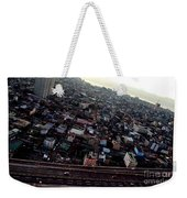 Birds Eye View Of The Pasay City Weekender Tote Bag