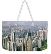 Birds Eye View Over Hong Kong Weekender Tote Bag