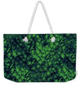 Birds In Green Weekender Tote Bag