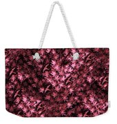 Birds In Redviolet Weekender Tote Bag