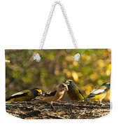 Birds Of Yellow Weekender Tote Bag