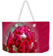 Birthday Card - Red Azalea Buds Weekender Tote Bag
