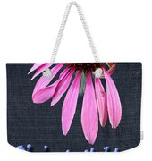 Birthday Party Invitation - Coneflower Weekender Tote Bag