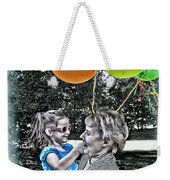 Birthdays Weekender Tote Bag by Joan  Minchak