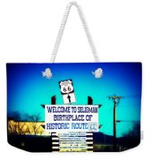 Birthplace Of Route 66 Weekender Tote Bag