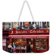 Biscuits And Calvados Weekender Tote Bag