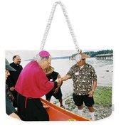 Bishop Arrives Weekender Tote Bag