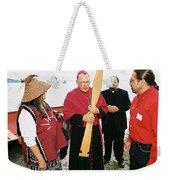 Bishop Arrives Two Weekender Tote Bag