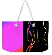 Black And Colors Weekender Tote Bag