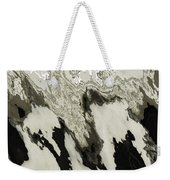 Black And White Abstract I Weekender Tote Bag