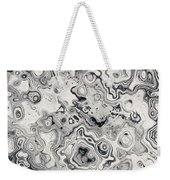 Black And White Abstract II Weekender Tote Bag