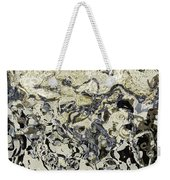 Black And White Abstract IIi Weekender Tote Bag