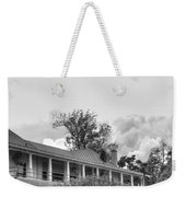 Black And White Delaware Casino Weekender Tote Bag