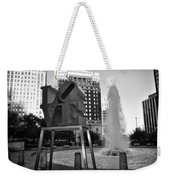 Black And White Love Weekender Tote Bag