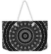 Black And White Mandala No. 3 Weekender Tote Bag