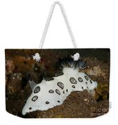 Black And White Spotted Budibranch Weekender Tote Bag