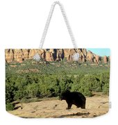 Black Bear In Utah Weekender Tote Bag