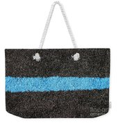 Black Blue Lawn Weekender Tote Bag