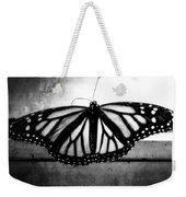 Black Butterfly Weekender Tote Bag