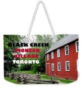 Black Creek Poster Weekender Tote Bag