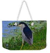 Black Crowned Night Heron II Weekender Tote Bag