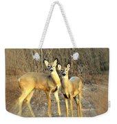 Black Ear Deer Weekender Tote Bag