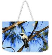 Black Faced Cuckoo Shrike V3 Weekender Tote Bag