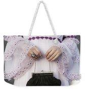 Black Handbag Weekender Tote Bag by Joana Kruse