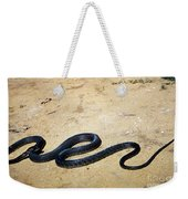 Black Mamba Weekender Tote Bag by Elizabeth Kingsley