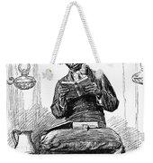 Black Preacher, 1890 Weekender Tote Bag