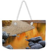 Black River Reflections At Johnsons Shut Ins State Park I Weekender Tote Bag