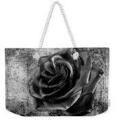 Black Rose Eternal  Bw Weekender Tote Bag