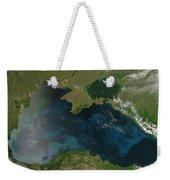 Black Sea Phytoplankton Weekender Tote Bag by Nasa