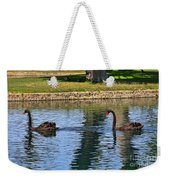 Black Swan's In Palm Springs Weekender Tote Bag