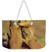 Black-tailed Prairie Dogs Weekender Tote Bag